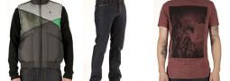 Volcom Ala Mode Pattern Cardigan/ Chris Bourke/ Stone Cloud Vest/ Benjamin Ong Teeshirt/ Activist Jean