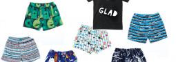 Clepto Boxershortts/ Lousy Living Stefan Marx Teeshirt/ Laptop Tasche/ Kids Tees
