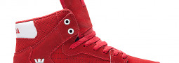 Supra Vaider Red/ White