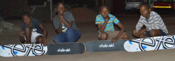 Ete Skateboards for Mosambik/ Afrika