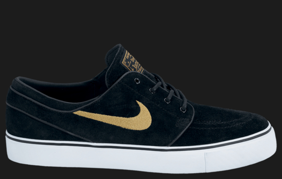 Nike Stefan Janoski Black And Gold