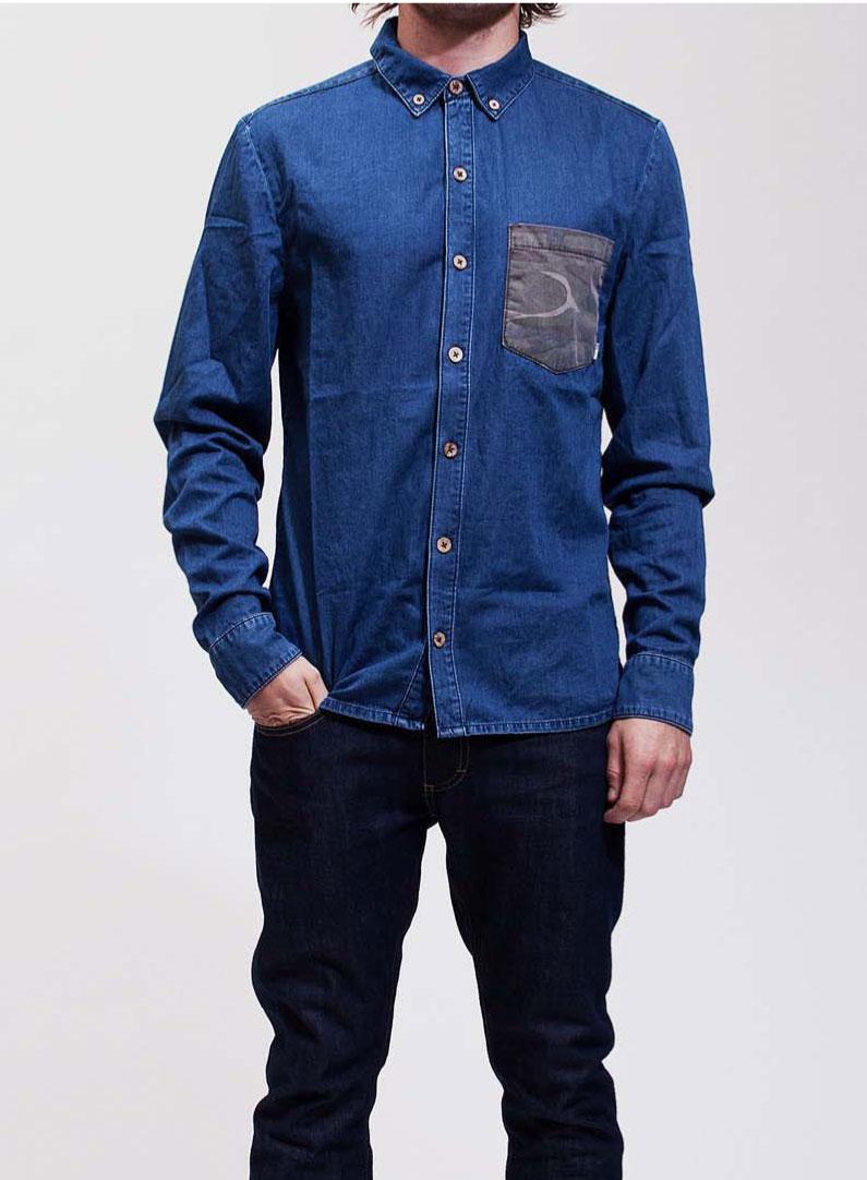 RVLT-Rune-Jeans-Hemd
