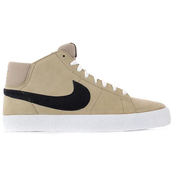 Nike-SB-Blazer-Mid-Trainers-Khaki-Black-White