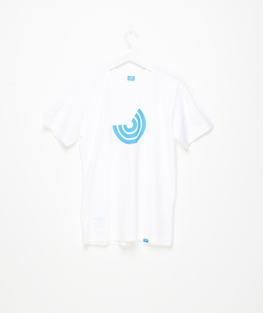 two thirds icon tee white