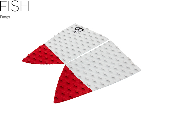 Gorilla Grip fish tailpad