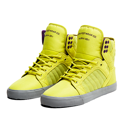Womens SKYTOP Acid Yellow