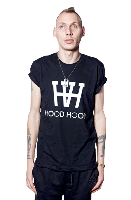 muschi Hood Hood Rudeshirt