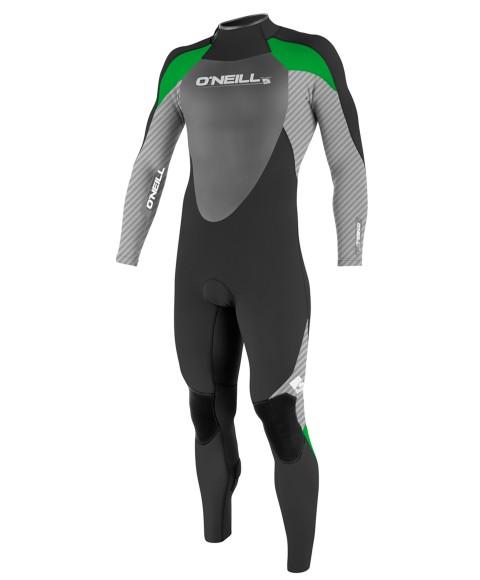 O Neill Epic 3 2 Black Carbon Green