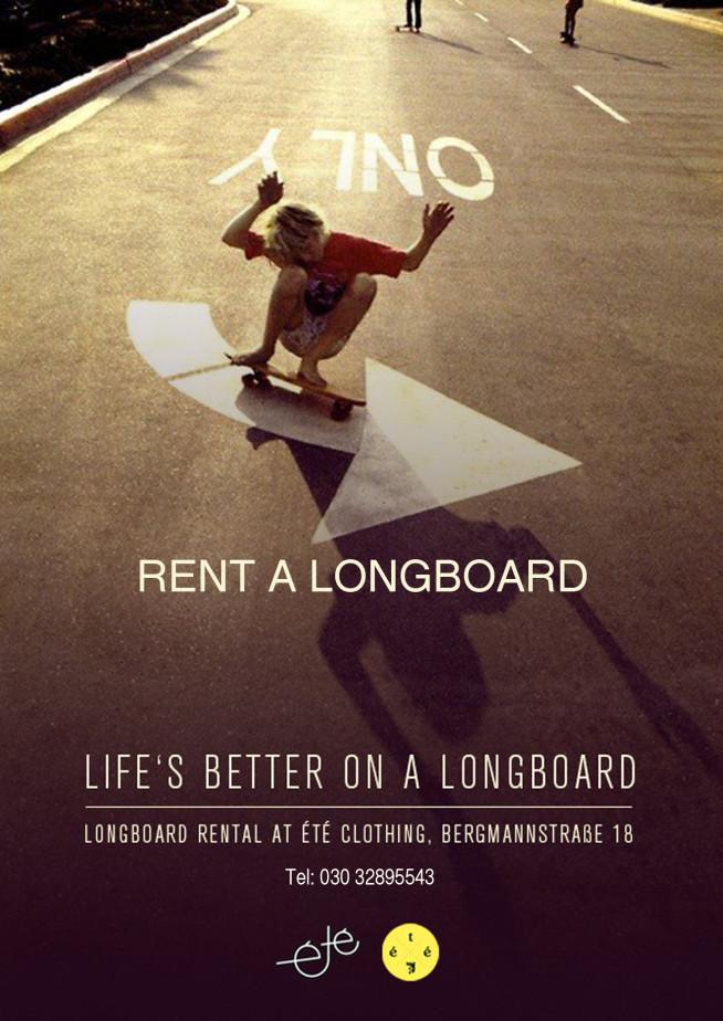 Rent a Longboard