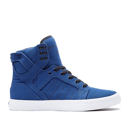supra SKYTOP NAVY  BLACK - WHITE