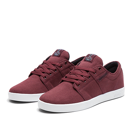 Supra STACKS Burgundy 2