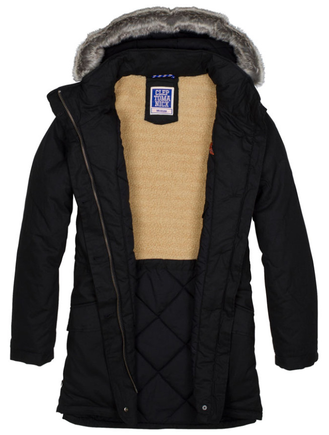 Clepto Hoppla Coat Frauen Winter Jacke Innen