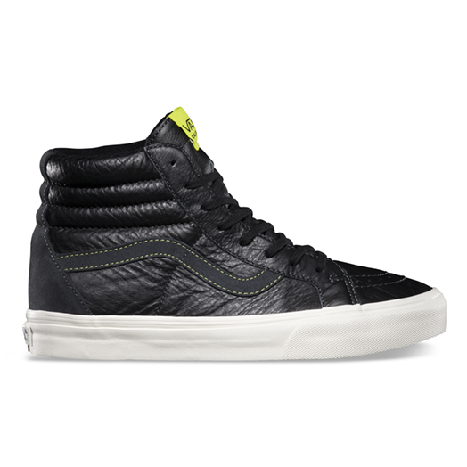 Vans Leather Sk8-Hi Reissue CA Black 1