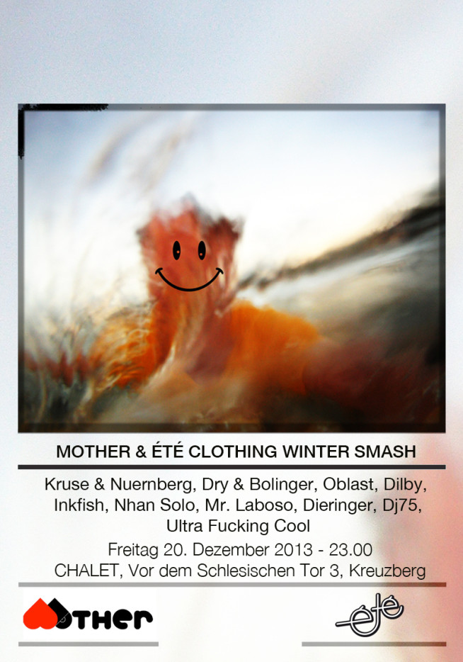 Winter-Smash Ete Clothing Mother Recordings Chalet