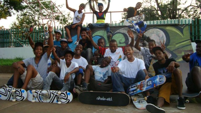 Ete Clothing Skateboards Afrika Mocambique Skate Aid