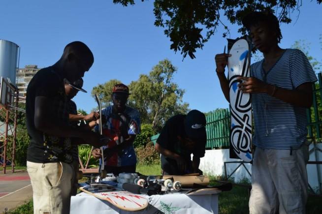 Ete Clothing Skateboards Afrika Mocambique Skate Aid9