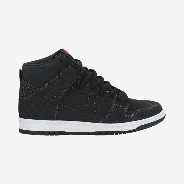 Nike-Dunk-High-Pro-SB-Mens-Sneaker-Black-Black White