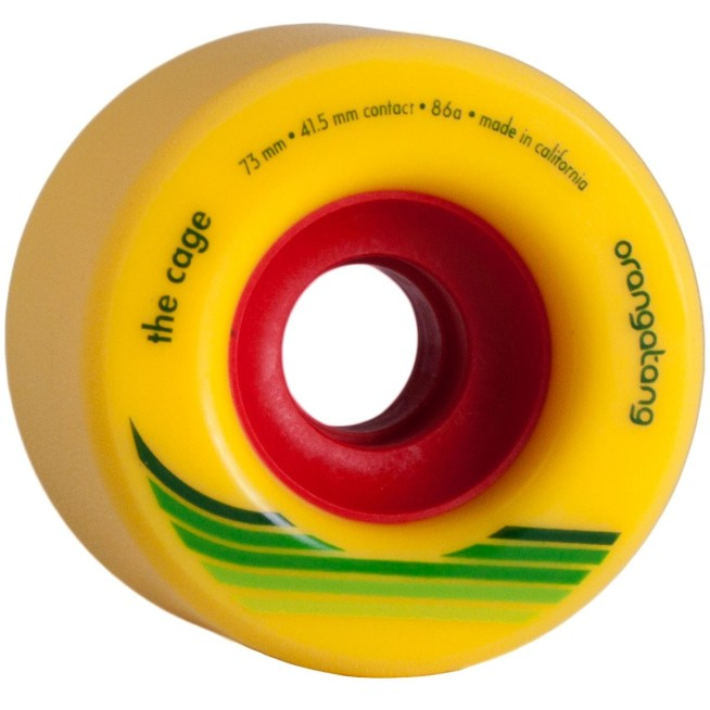 orangatang-the-cage longboard rollen
