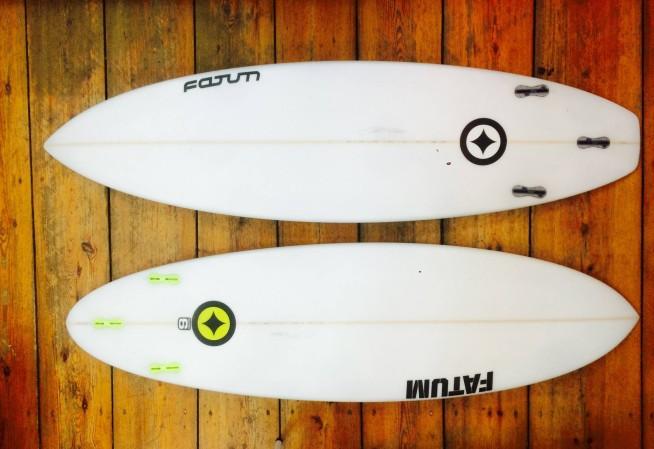 Fatum Super Six Surfboard