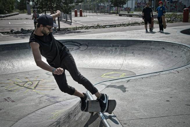 Kreuzberg Gleisdreieck Bowl Skate