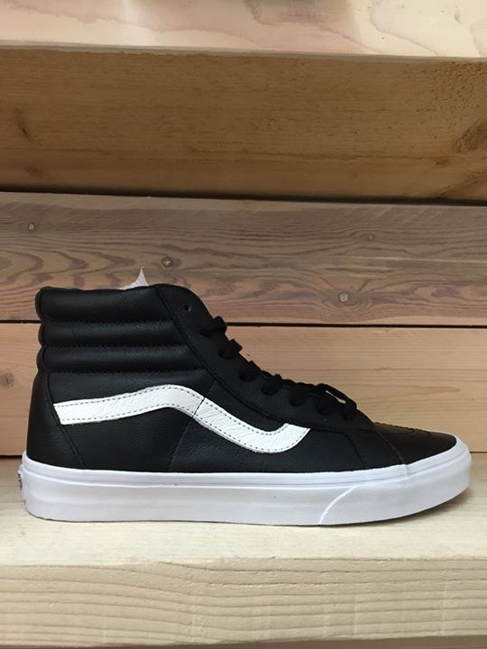 Vans Sk8 High Black White