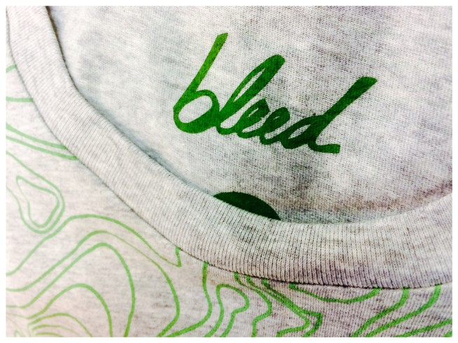 bleed organic clothing