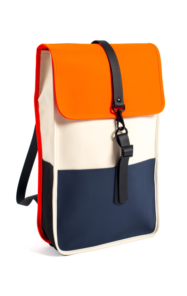 rains Backpack_front_orange_small