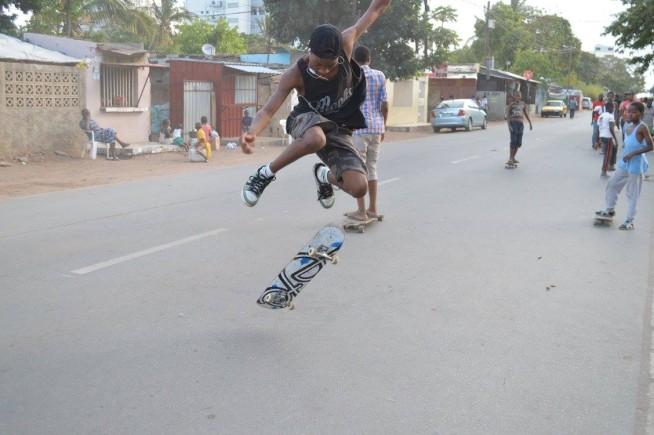 Ete Clothing Skate Aid Mosambik
