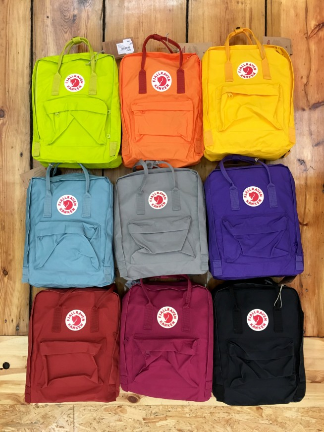 Fjallraven Kanken Black Grey Navy Yellow Plum Lila Rot